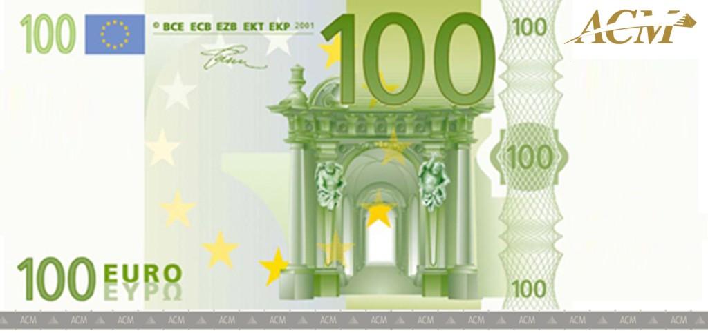 100 Euro Vorderseite